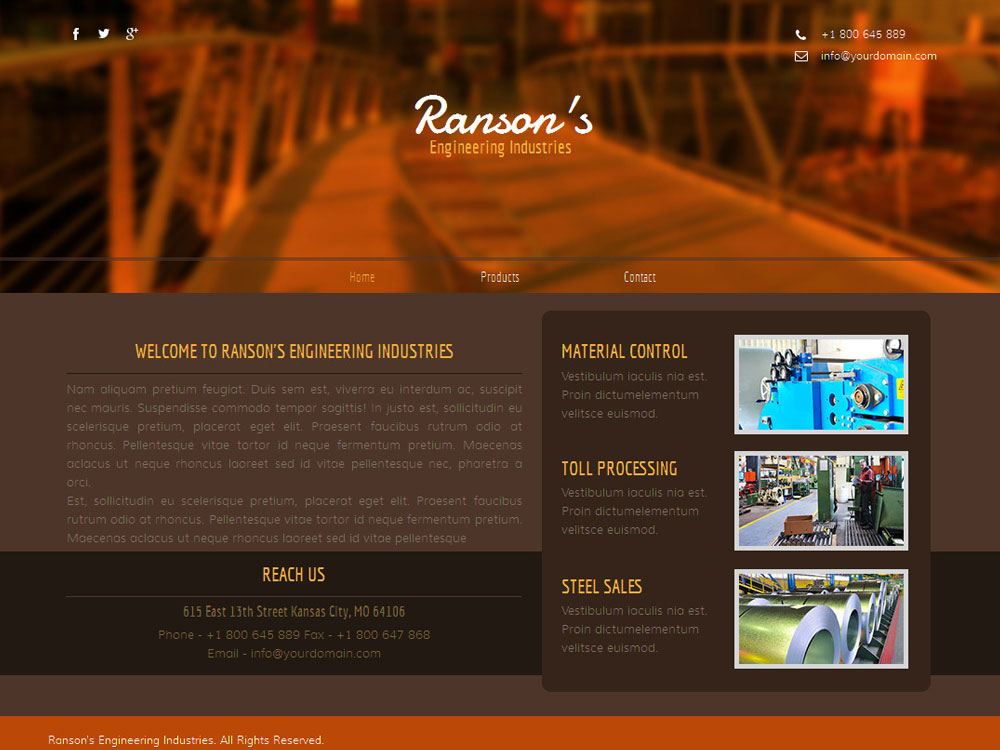 Ranson's Engineering Industries