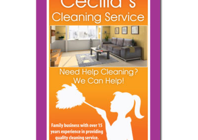 Cecilias Cleaning