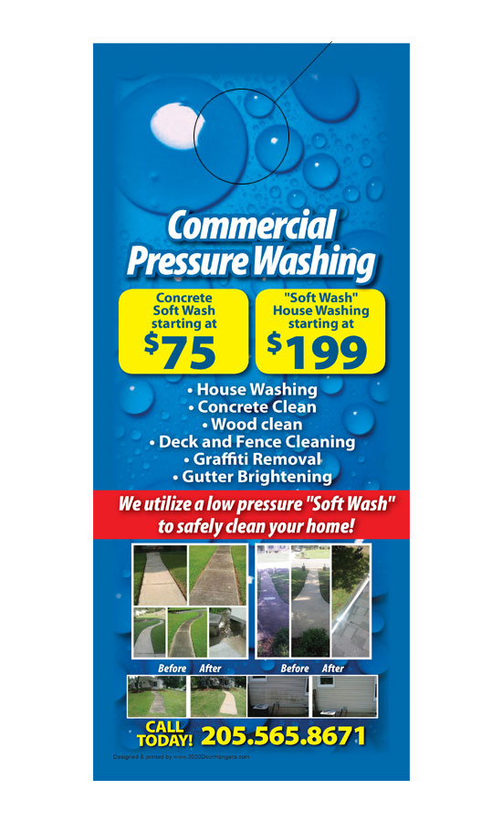 Commerical Pressure Washing